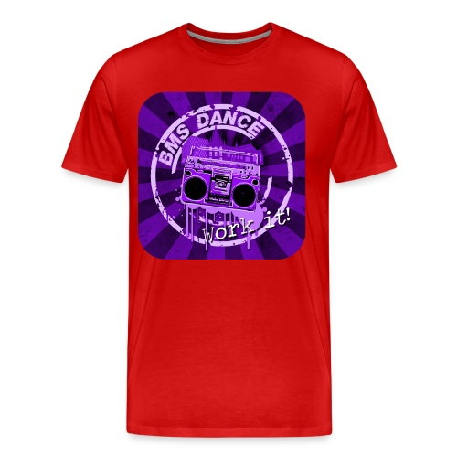 BMS Dance - Mannen Premium T-shirt