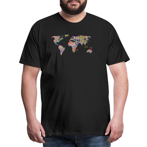 Hipsters' world - Men's Premium T-Shirt
