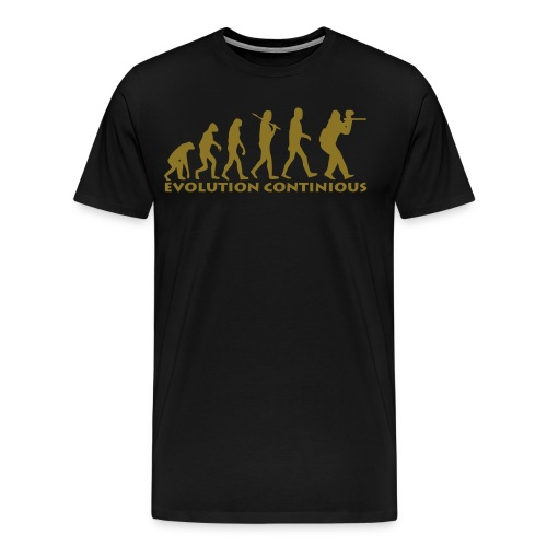paintball evolution continious v10 - Männer Premium T-Shirt