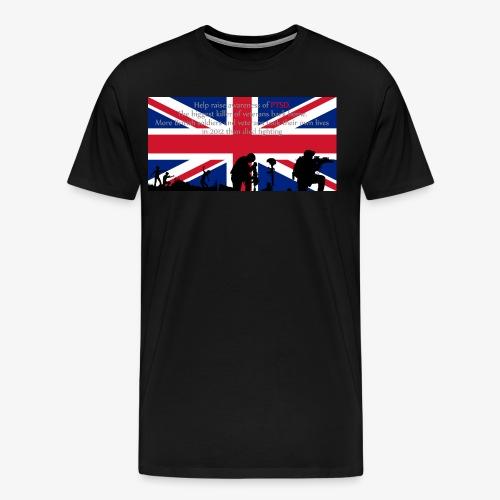 PSTD Awareness - Men's Premium T-Shirt