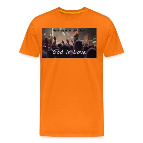 GOD is LOVE. - Männer Premium T-Shirt
