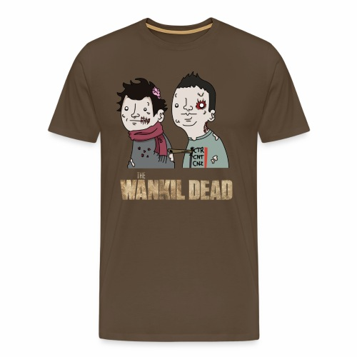 The Wankil Dead - T-shirt Premium Homme