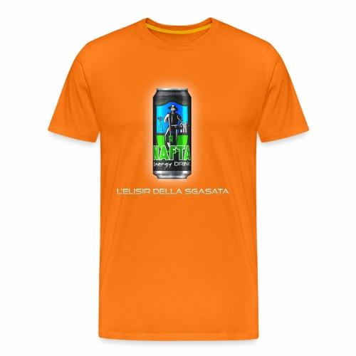 Nafta Energy Drink - Maglietta Premium da uomo