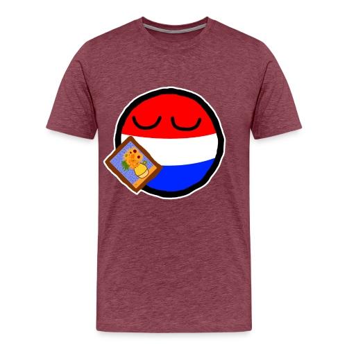 Netherlandsball - Men's Premium T-Shirt