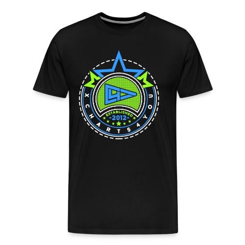 xGreenBlue - Männer Premium T-Shirt