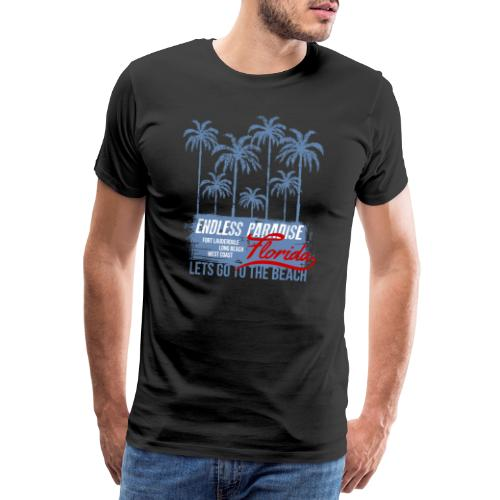Palms Paradise - Männer Premium T-Shirt