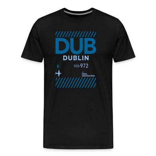 Dublin Ireland Travel - Men's Premium T-Shirt