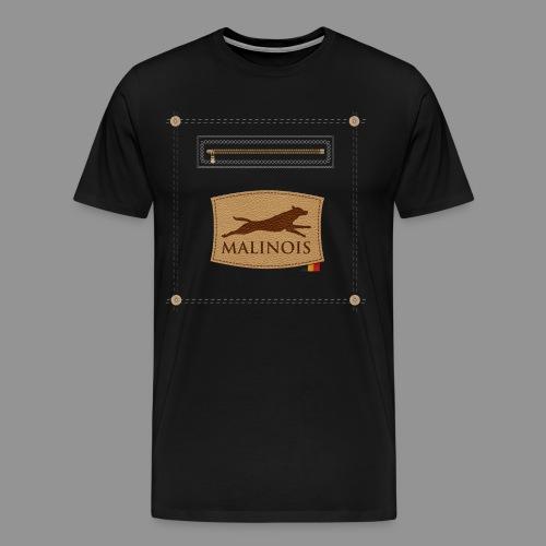 Belgian shepherd Malinois - Men's Premium T-Shirt