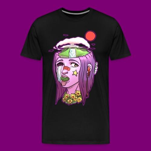 Pink Girl - Mannen Premium T-shirt