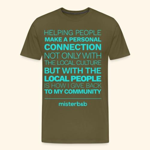 misterb&b - T-shirt Premium Homme