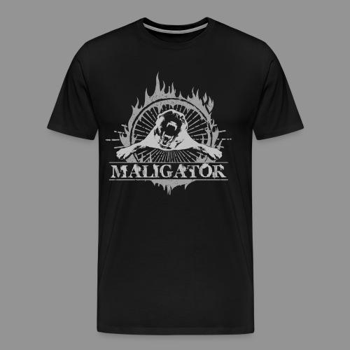 Maligator - Belgian shepherd - Malinois - Men's Premium T-Shirt