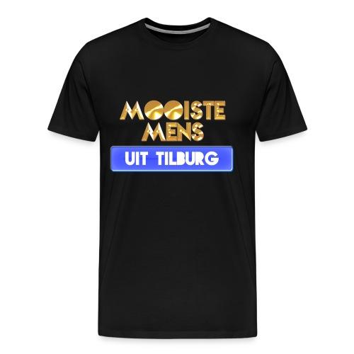 Mooiste mens uit Tilburg - Mannen Premium T-shirt