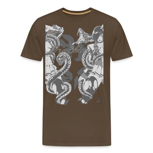 Bliss Yagami Grey - T-shirt Premium Homme