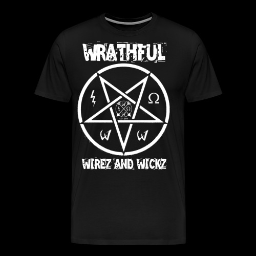 Wrathful Wirez PentaWrath - Men's Premium T-Shirt