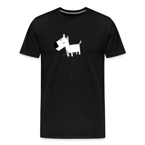 cane gif - Maglietta Premium da uomo