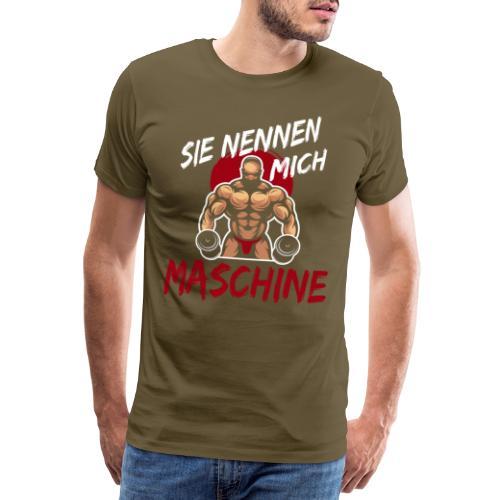 Sie nennen mich Maschine - Männer Premium T-Shirt