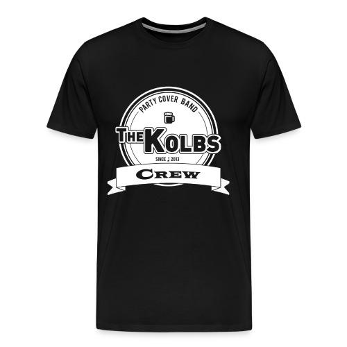 THE KOLBS Fanshirt Crew für Männer - Männer Premium T-Shirt