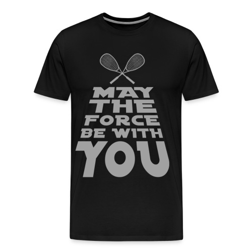The Squash Force - Männer Premium T-Shirt