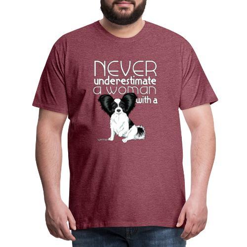 papiunderestimate3 - Miesten premium t-paita