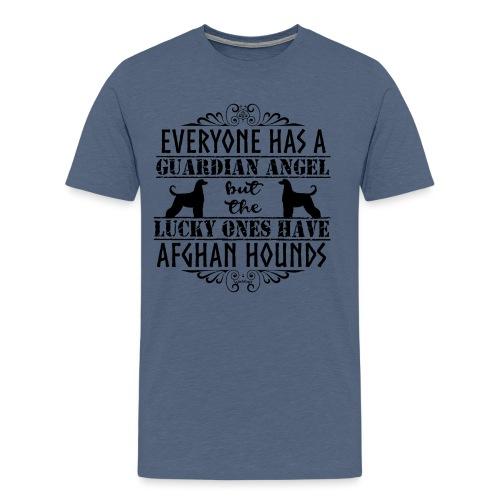 Afghan Hound Angels - Men's Premium T-Shirt