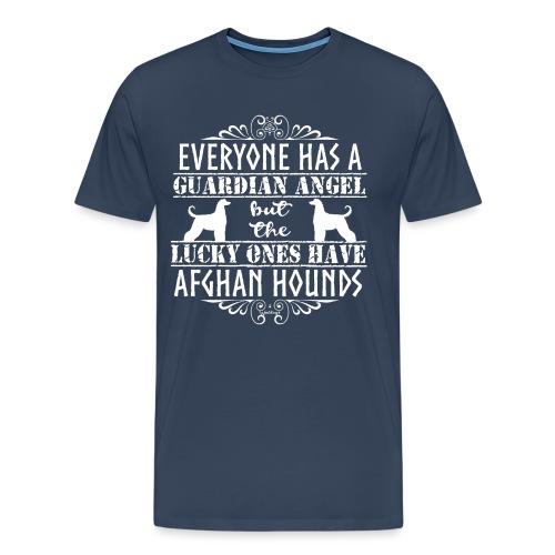 Afghan Hound Angels 2 - Men's Premium T-Shirt