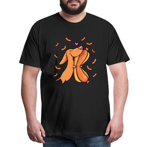 Weenie Lover - Miesten premium t-paita