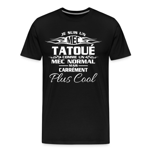 MEC tatou blanc - T-shirt Premium Homme