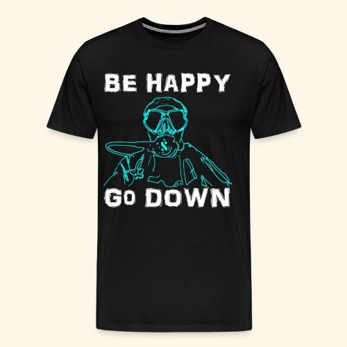 BeHappy001 - Mannen Premium T-shirt