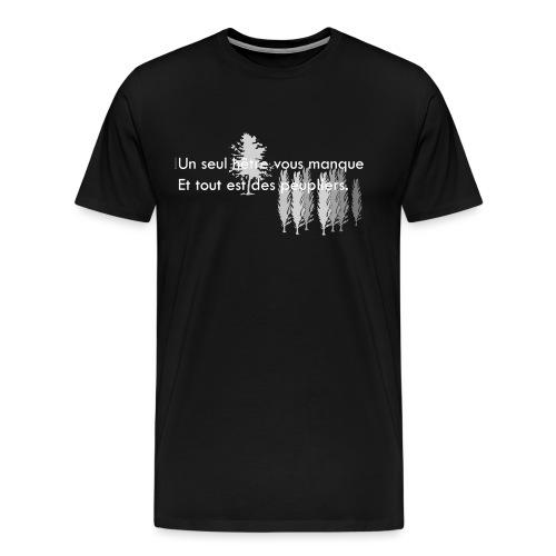 un-seul-hetre-vous-manque - T-shirt Premium Homme