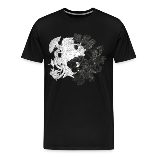 New Yin Old Yang - Men's Premium T-Shirt