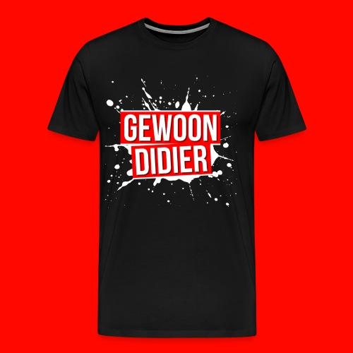 GewoonDidierMerch png - Mannen Premium T-shirt