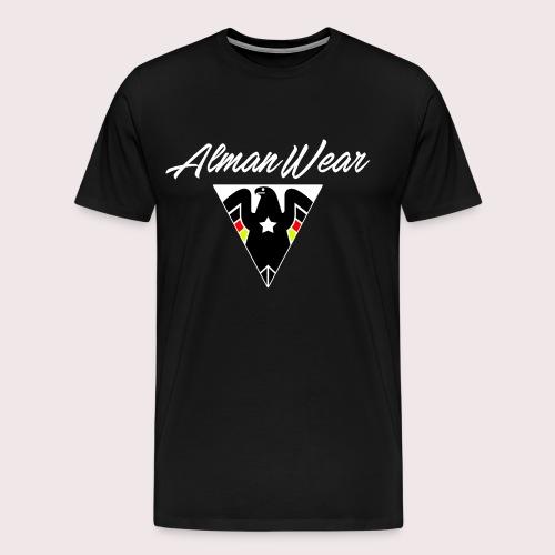ALMAN WEAR ADLER MIT STERN DEUTSCHER DEUTSCHLAND - Männer Premium T-Shirt