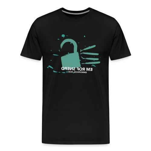 c3lock - Männer Premium T-Shirt