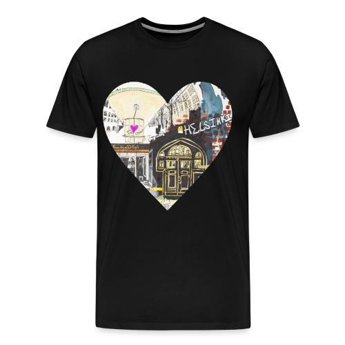 helsinkiheart png - Men's Premium T-Shirt