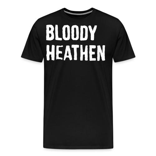 bloodyheathen_logo_valk - Men's Premium T-Shirt