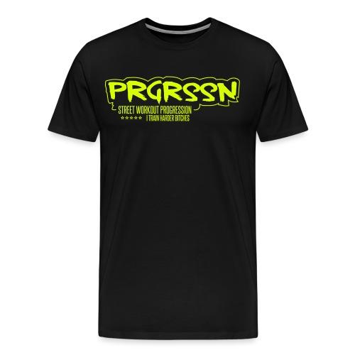 PRGRSSN NEU SPREADSHIRT - Männer Premium T-Shirt