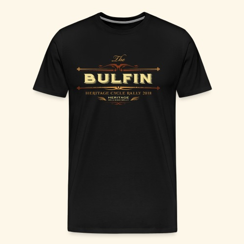 Bulfin Logo - Men's Premium T-Shirt