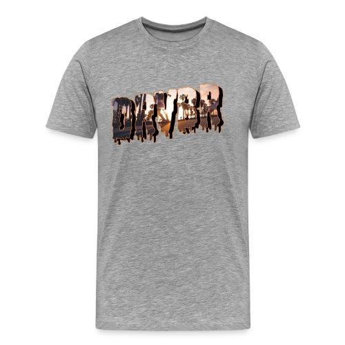 Cali A png - Männer Premium T-Shirt