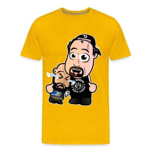 Chibi Punk SES and Big Show - Men's Premium T-Shirt