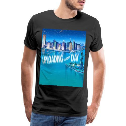 UPLOADING EVERYDAY - Men's Premium T-Shirt