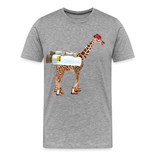 tallgoatdeluxe2 - Men's Premium T-Shirt