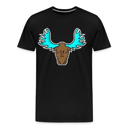 Albert the Moose Coffee Cup - Men's Premium T-Shirt