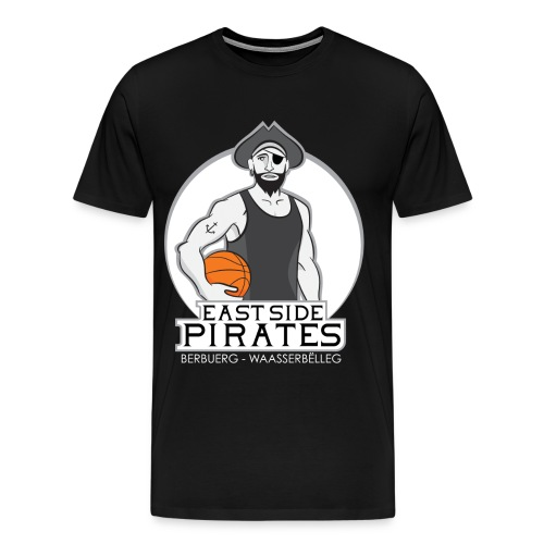 East Side Pirates BLACK png - Männer Premium T-Shirt