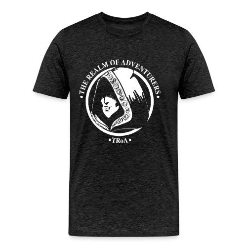 TRoA Logo hvid - Herre premium T-shirt