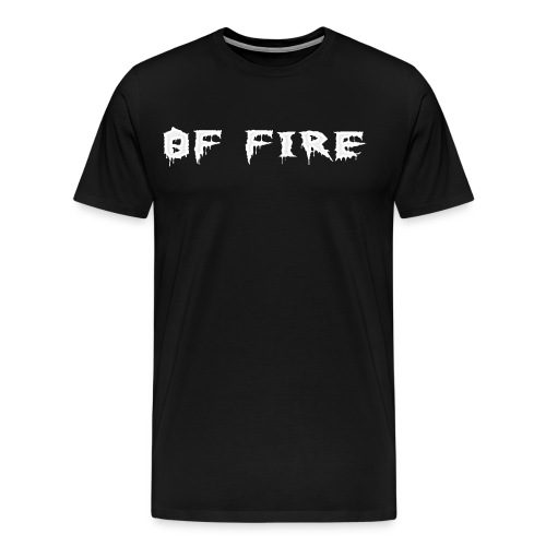 Offire Logo White - Men's Premium T-Shirt