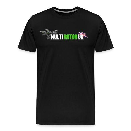 Multi Rotor UK Hoodie - Men's Premium T-Shirt