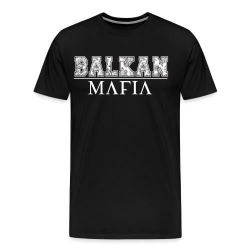 Balkan Mafia png - Männer Premium T-Shirt
