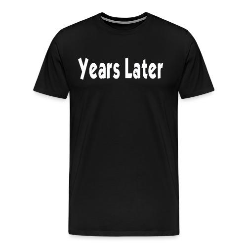 Bandname Years Later weiß - Männer Premium T-Shirt