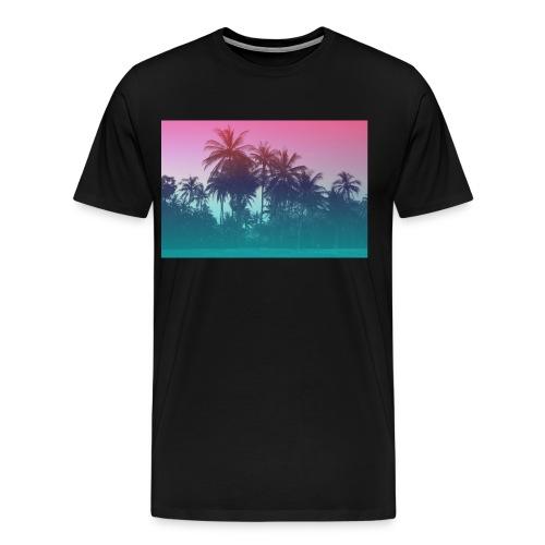 palmiers - T-shirt Premium Homme