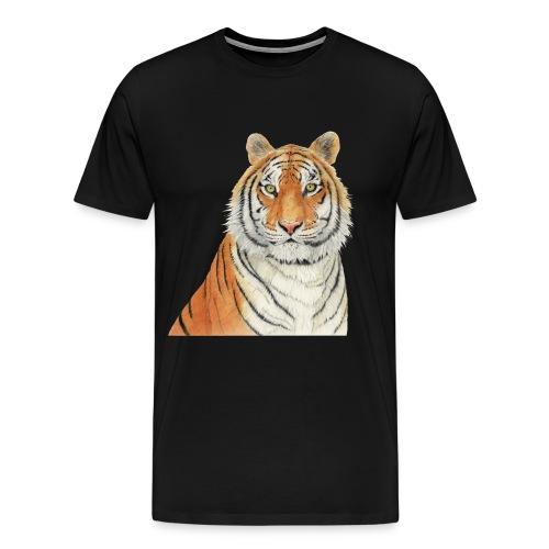 Tigre,Tiger,Wildlife,Natura,Felino - Maglietta Premium da uomo